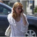 Emma Roberts Spotted Out And About In Beverly Hills