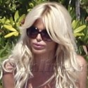 Victoria Silvstedt's Sexy Beach Romp