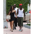 Lil Wayne Takes A Walk With His Girlfriend