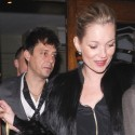 Kate Moss And Fiance Jamie Hince Grab A Bite In London