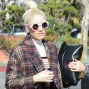 Is Gwen Stefani Hiding A Baby Bump Under That Plaid Coat?