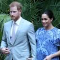 Pregnant Meghan Markle Looks STUNNING In Blue!