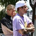 Justin And Hailey Lunch And Shop With Pastor Carl Lentz