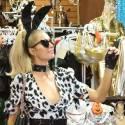 Paris Hilton Gets Ready For Halloween!