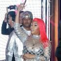Nicki Minaj Bears Her Body At Fendi Collab Launch Party