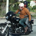 Halle Berry And Olivier Martinez Go For A Motorcyle Ride