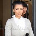 Kim Kardashian Glams Up For Lunch And Tones It Down For The Gym