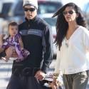 Matthew McConaughey Takes The Family To The Beach