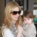 Sarah Michelle Gellar Totes Her Little Girl Through LAX