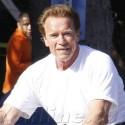 Arnold Bikes On The Streets Of Santa Monica