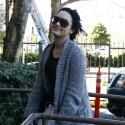 Demi Lovato Back At Eating Disorder Center