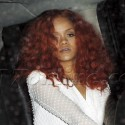 Rihanna Dines At Osteria Mozza