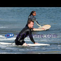 Caan You Believe Kim Bordenave's New Surfing Buddy?