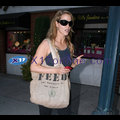 Elizabeth Berkeley Straps On The Old Feed Bag