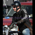 Keanu Cruises On His Motorcycle