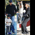 Tom And Gisele Take Their Adorable Boys To The Park