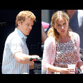 <em><font color=orange>X17 XCLUSIVE</em></font> - Julie Benz Returns To <em>Dexter</em>