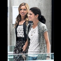 Selena And Katie Film <em>Monte Carlo</em> In Paris