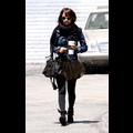 Nicole Richie Bundles Up For The Cold Summer Weather