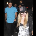 Avril And Brody Show Up To Lindsay's Party