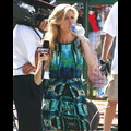 Erin Andrews Cools Down With A Slurp Of H2O