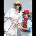 <em><font color=orange>X17 XCLUSIVE</em></font> - Model Mom Luciana Gimenez Sets Sail With Mick Jagger's Son