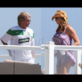 First Pix Of Rod Stewart And Penny After Pregnancy Announcement!