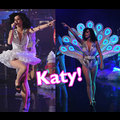 Katy Perry Shows Her Feathers On David Letterman