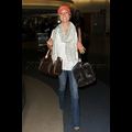 Kristin Cavallari Goes Au Natural At LAX...