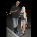 Dennis Rodman And One Very Bruised Blonde