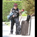 Benji Madden Packs His Bags And Bounces Out Of Town