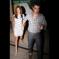 <em><font color=orange>X17 EXCLUSIVE</em></font> -  Kevin Jonas And Wife Danielle Dine Out