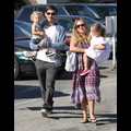 Tobey Maguire And Company Sneak Out For Sunday Brunch
