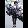 Pregnant Lily Allen Indulges In Retail Therapy During Paris Fashion Week