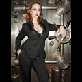 Men And Women Hit On <em>Mad Men</em>'s Christina Hendricks