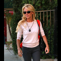 <em><font color=orange>X17 EXCLUSIVE</font></em> - Dina Lohan Misses Lindsay's Family Day At Rehab; Goes Drinking Instead, Says Michael