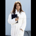 Katie Holmes Back In Her Bathrobe, Cracks Up Christie Brinkley