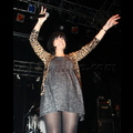 Pregnant Lily Allen Takes The Stage In Camden