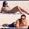 Paul Walker Eyes Jordana Brewster On The Beach