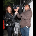 Tyra Banks Gets Playful With Photographers After Dinner