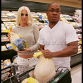 Karissa Shannon And Boyfriend Sam Jones III Ham It Up In The Meat Section