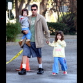 Adam Sandler And His Precious Princesses Head To Gymnastics
