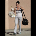 "Nadya ""Octomom"" Suleman Juggles Frozen Yogurt For Fourteen"