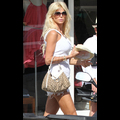 Victoria Silvstedt Sports Daisy Dukes In St. Barth