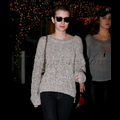 Emma Roberts Loves Wearing Her Sunglasses At Night