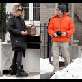 Sarah Jessica Parker And Matthew Broderick Brave The New York Cold