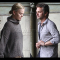Charlize Theron At Chateau Marmont With Mystery Man