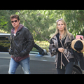 "<em><span class=""exclusive"">EXCLUSIVE PHOTOS</span></em> - Billy Ray And Tish Cyrus Reunite At LA Pet Cemetery"