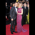Scarlett And Jeremy Light Up The Oscars Red Carpet