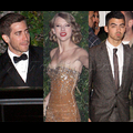 Taylor Swift Surrounded By Ex-Boyfriends At Vanity Fair Oscar Bash